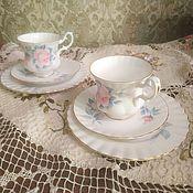 Винтаж handmade. Livemaster - original item Royal Albert.  Tea and coffee trio.. Handmade.