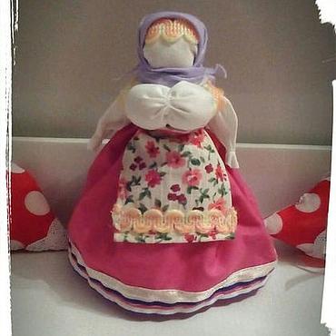 Куклы и игрушки ручной работы. Ярмарка Мастеров - ручная работа Народная кукла - скрутка берегиня. Handmade.