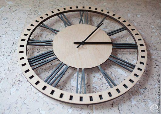 """Часы для дома ручной работы. Ярмарка Мастеров - ручная работа. Купить Настенные часы из дерева """"Классик"""". Handmade. Настенные часы"""