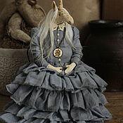 Куклы и игрушки handmade. Livemaster - original item Garret doll: Unicorn. Handmade.