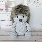 Куклы и игрушки handmade. Livemaster - original item Grey plush hedgehog Garik. Handmade.