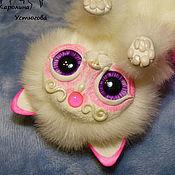 Куклы и игрушки ручной работы. Ярмарка Мастеров - ручная работа Королевский волшебный кот породы : Мирис. Розовый. Handmade.
