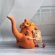 Войлочная игрушка ручной работы. Ярмарка Мастеров - ручная работа Чай с Печенькой.. Handmade.