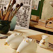 Сувениры и подарки handmade. Livemaster - original item Souvenir rat and mouse from ceramics. Handmade.