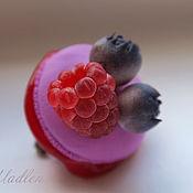 Украшения ручной работы. Ярмарка Мастеров - ручная работа Макарон..... пирожные, броши. Handmade.