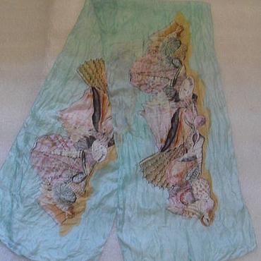 Винтаж ручной работы. Ярмарка Мастеров - ручная работа Винтаж: Шарф из шелка,винтаж Англия. Handmade.