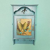 Для дома и интерьера handmade. Livemaster - original item The housekeeper , color, Tiffany, the housekeeper-hanger in the hallway. Handmade.