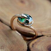Украшения handmade. Livemaster - original item Ring Snake (possibly made of silver or gold). Handmade.