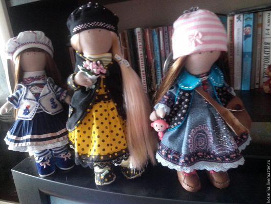 Куклы Тильды ручной работы. Ярмарка Мастеров - ручная работа. Купить Куклы. Handmade. Комбинированный, ткань для кукол