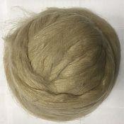Материалы для творчества handmade. Livemaster - original item Alpaca (Alpaka) Wool for felting. Beige. Germany.. Handmade.