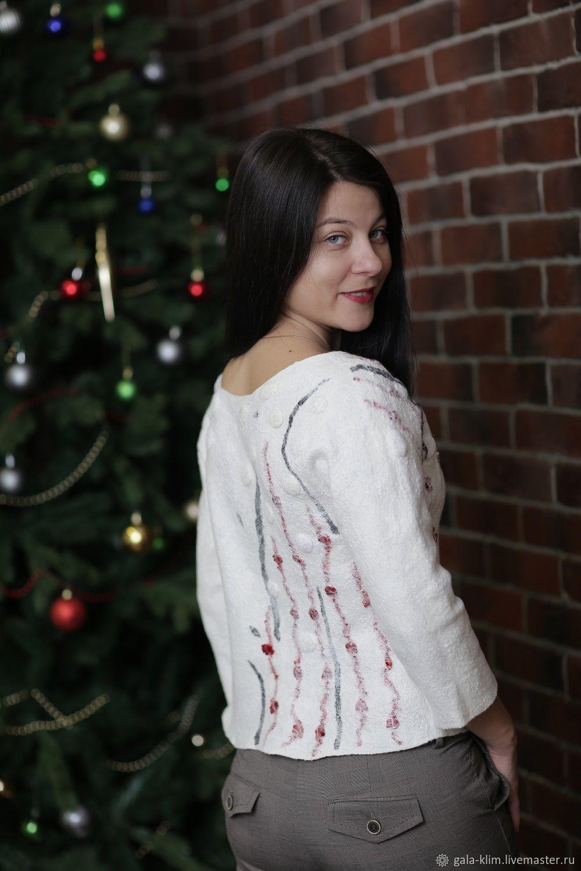 Felted sweater 'Japan', Klimkin Galina, Sweaters, Losino-Petrovsky,  Фото №1
