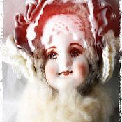 Куклы и игрушки ручной работы. Ярмарка Мастеров - ручная работа Зимняя барынька. Handmade.
