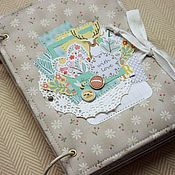 Канцелярские товары handmade. Livemaster - original item Album diary With love. Handmade.