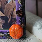 """Сувениры и подарки ручной работы. Ярмарка Мастеров - ручная работа Рамка для фото """"Тыква и волшебство"""". Handmade."""