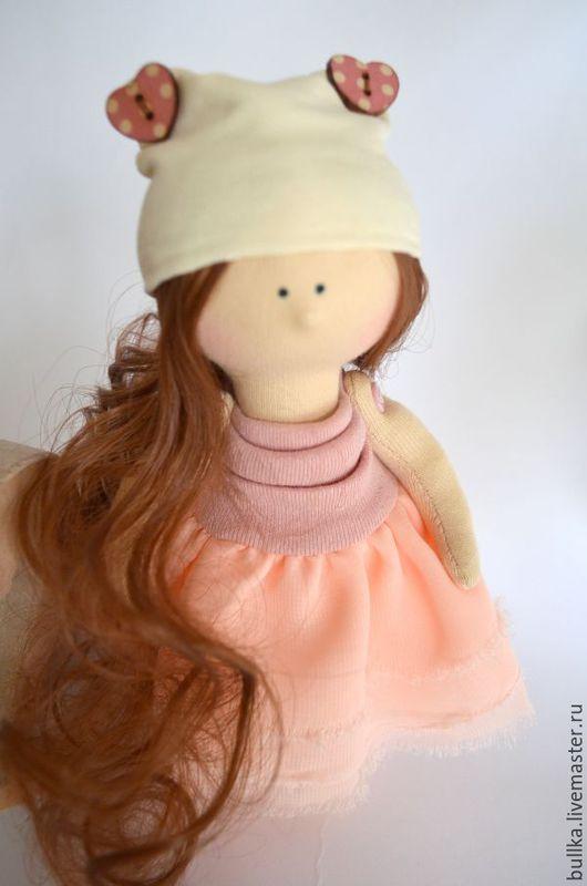 Куклы тыквоголовки ручной работы. Ярмарка Мастеров - ручная работа. Купить Кукла. Handmade. Подарок, девочка, куколка, милота, хлопок