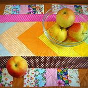 Для дома и интерьера ручной работы. Ярмарка Мастеров - ручная работа Ланчмат (мини-скатерть для стола) пэчворк. Handmade.