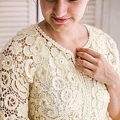 """Одежда ручной работы. Ярмарка Мастеров - ручная работа Болеро """"Букет"""". Handmade."""