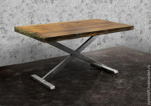 Мебель ручной работы. Ярмарка Мастеров - ручная работа. Купить STOL №2. Handmade. Лофт, дерево, массив дерева