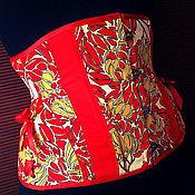 """Одежда ручной работы. Ярмарка Мастеров - ручная работа Корсет """"Rojo"""". Handmade."""