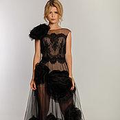 Одежда handmade. Livemaster - original item Black evening dress 1 1. Handmade.