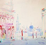 Картины и панно ручной работы. Ярмарка Мастеров - ручная работа Сан-Марко , район Венеции. Handmade.