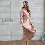 Одежда ручной работы. Ярмарка Мастеров - ручная работа Валяное платье «Нежность». Handmade.