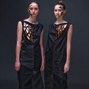 Одежда ручной работы. Ярмарка Мастеров - ручная работа Платья-близнецы Magma & Lava. Handmade.