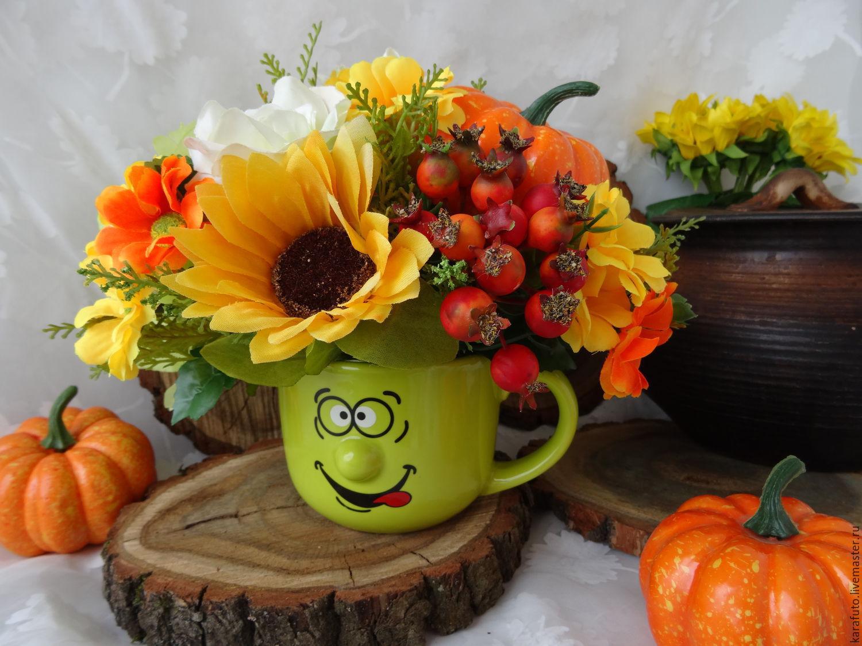 Осенние цветочные композиции своими руками фото фото 666