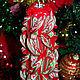 Свечи ручной работы. Резная свеча на Новый год. Марина Миронова. Резные свечи. (marycandle). Интернет-магазин Ярмарка Мастеров.
