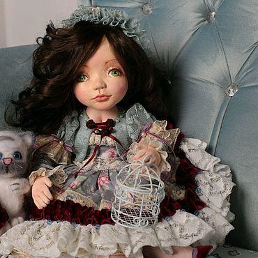 Куклы и игрушки ручной работы. Ярмарка Мастеров - ручная работа Кукла Лорелея авторская текстильная. Handmade.