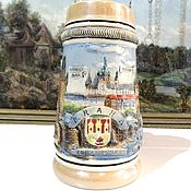 Винтаж handmade. Livemaster - original item PRAGUE beer mug 0,4 liter of Bohemia. Handmade.