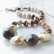 Украшения handmade. Livemaster - original item COLORFUL beads short buy. Handmade.
