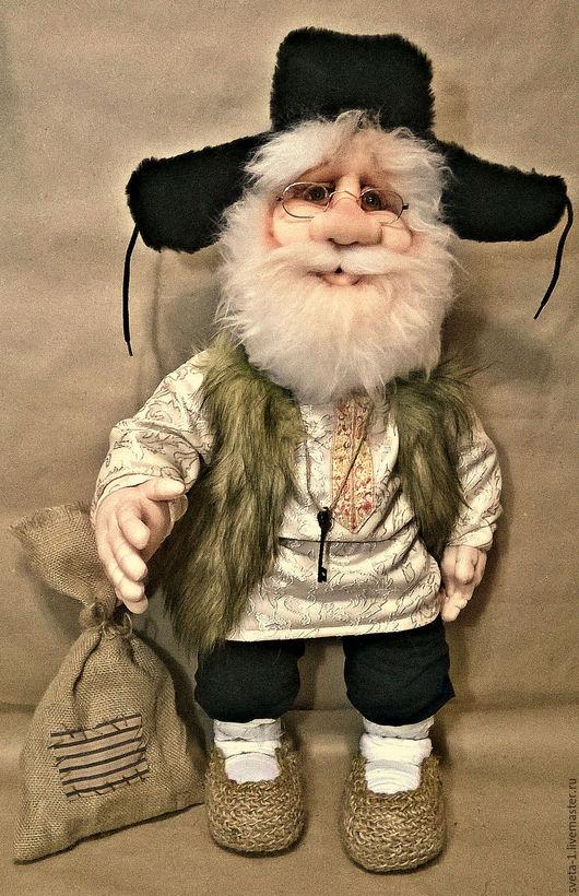 Коллекционные куклы ручной работы. Ярмарка Мастеров - ручная работа. Купить домовой. Handmade. Коричневый, интерьерная кукла
