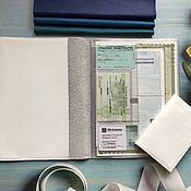 Канцелярские товары handmade. Livemaster - original item Organizer for documents in B5 format (4persons). Handmade.