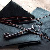 """Канцелярские товары ручной работы. Ярмарка Мастеров - ручная работа """"Vintage Black""""- бумага  и конверты ручной работы. Handmade."""