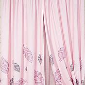 Для дома и интерьера ручной работы. Ярмарка Мастеров - ручная работа Шторы двойные из коллекции Стебель. Романтический шик.. Handmade.