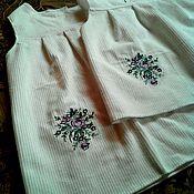 """Работы для детей, ручной работы. Ярмарка Мастеров - ручная работа Сарафан с вышивкой """"Розы"""". Handmade."""