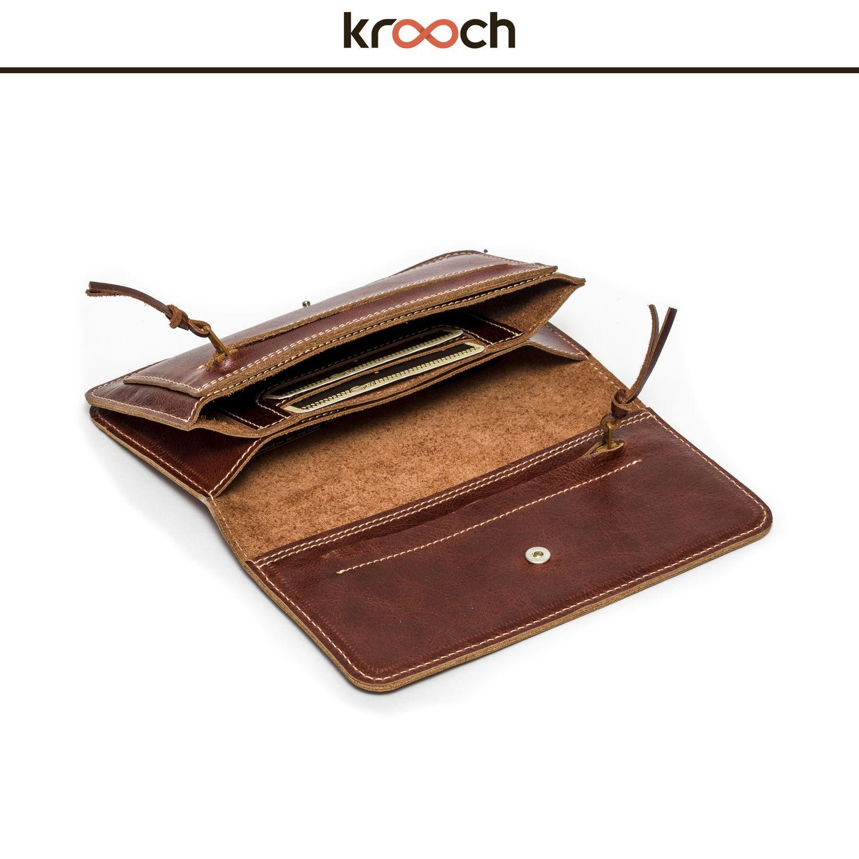 Wallets & Business Card Holders handmade. Livemaster - handmade. Buy Leather wallet MILAN.Brown, genuine leather