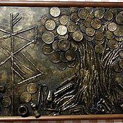 Картины и панно ручной работы. Ярмарка Мастеров - ручная работа Денежные деревья.. Handmade.