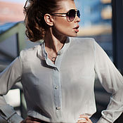 Одежда handmade. Livemaster - original item Albion blouse. Handmade.