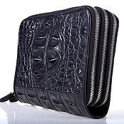 Сумки и аксессуары handmade. Livemaster - original item Clutch bag made from crocodile skin IMA0008B11. Handmade.