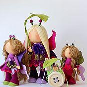 Куклы и игрушки ручной работы. Ярмарка Мастеров - ручная работа Малиново-ежевичное варенье. Handmade.