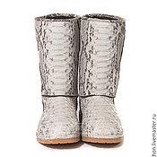 Обувь ручной работы. Ярмарка Мастеров - ручная работа Угги   из кожи питона. Handmade.