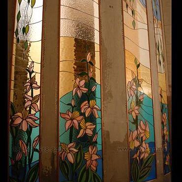 Для дома и интерьера ручной работы. Ярмарка Мастеров - ручная работа Витражи Тиффани,ниши с подсветкой. Handmade.