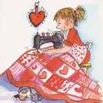 ТЕПЛОТА Лоскутное одеялко - Ярмарка Мастеров - ручная работа, handmade