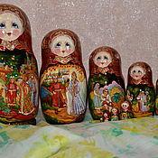 Русский стиль handmade. Livemaster - original item Russian tales, 10 places. Handmade.