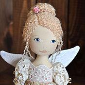 Куклы и игрушки ручной работы. Ярмарка Мастеров - ручная работа фея с бубенчиком. Handmade.
