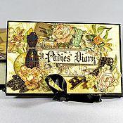 Канцелярские товары handmade. Livemaster - original item Photo album in gift box women Lady. Handmade.