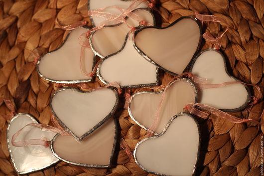 Подарки для влюбленных ручной работы. Ярмарка Мастеров - ручная работа. Купить гирлянда СЕРДЕЧКИ. Handmade. Разноцветный, гирлянда из сердечек