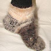 Аксессуары handmade. Livemaster - original item Socks cashmere art. No. №42 of dog hair. Handmade.